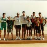 PRVENSTVO HRVATSKE 1992., 2+SMA, 2. mjesto, Goran Mihovilovic, Igor Velimirovic, Zoran Adamovic (kormilar)