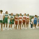 PRVENSTVO HRVATSKE 1993., 4+JMB, 2. mjesto, Boris Rihtar, Igor Francetic, Igor Drvodelic, Andrija Vranic, Damir Antolovic (kormilar)