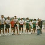 PRVENSTVO HRVATSKE 1993., 4+SMA, 3. mjesto, Igor Velimirovic, Goran Mihovilovic, Davor Šubic, Miroslav Erceg, Zoran Adamovic (kormilar)