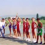 PRVENSTVO HRVATSKE 1994.,4-LSMA, 3. mjesto, Mario Hiveš, Vjekoslav Hlede, Branko Ducak, Danko Belobrajdic