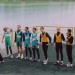 PRVENSTVO HRVATSKE 1996., 4xLSMA, 2. mjesto, Vjekoslav Hlede, Tomo Dubovecak, Damir Rajle, Mario Hiveš