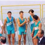 PRVENSTVO HRVATSKE 1997., 4+JMA, 1. mjesto, Zoran Zuban, Jerko Rebic, Dejan Šušak, Renato Tripalo, Silvijo Petriško (kormilar)