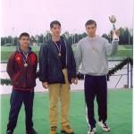 PRVENSTVO HRVATSKE 1998., 2+SMA, 1. mjesto, Domagoj Tripalo, Igor Velimirovic, Silvijo Petriško (kormilar)