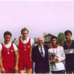 PRVENSTVO HRVATSKE 1999., 2+SMA, 1. mjesto, Igor Velimirović, Krešimir Čuljak, Silvijo Petriško (kormilar)