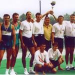 PRVENSTVO HRVATSKE 1999., 4+SMA, 2. mjesto, Igor Francetić, Igor Drvodelić, Igor Velimirović, Krešimir Čuljak, Silvijo Petriško (kormilar)