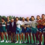 PRVENSTVO HRVATSKE 1999., 4xJMA, 2. mjesto, Janko Šurina, Kristijan Karlović, Dino Šug, Tomislav Popić