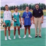 PRVENSTVO HRVATSKE 2001., 1xKMA, 2. mjesto, Jurica Gustinčić