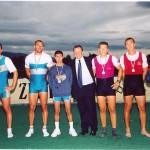 PRVENSTVO HRVATSKE 2001., 2+SMA, 2. mjesto, Igor Velimirović, Krešimir Čuljak, Silvijo Petriško (kormilar)