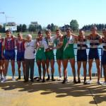PRVENSTVO HRVATSKE 2007., 4xJMA, 1. mjesto, Mihael Britvec, Antonio Dujmović, Mislav Jelaković, Luka Postružin