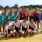 PRVENSTVO HRVATSKE 2009., 4xJMA, 2. mjesto, Mario Petković, Branimir Radić, Mislav Radić, Filip Zember