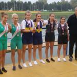 PRVENSTVO HRVATSKE 2014., 2xKŽA, 2. mjesto, Katarina Vučina, Nika Šimić