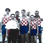 NATIONS CUP, Hazewinkel, 1996., 4 + SMB, Igor Francetić (VK Croatia), Marko Dragičević (VK Jadran ZD), Vjekoslav Bobić (VK Jadran ZD), Marin Perinić (VK Jadran RI), kormilar: Marko Čekada (VK Jadran RI), 1. mjesto
